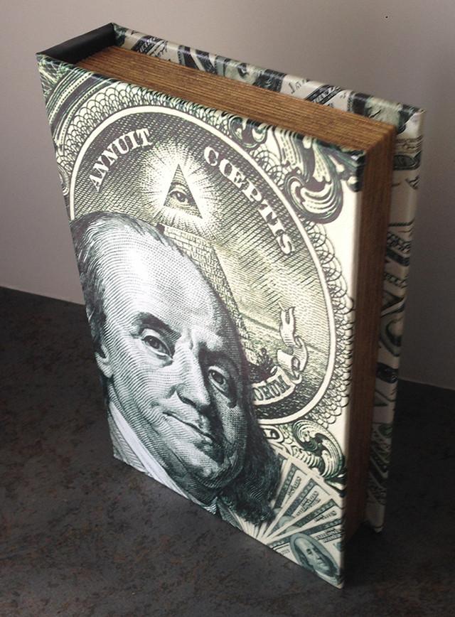 """Книга-сейф """"Доллар"""""""
