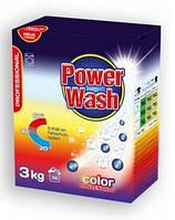 """Стиральный порошок из Германии """"Power Wash Professional"""" 3 кг (для цветных вещей)"""