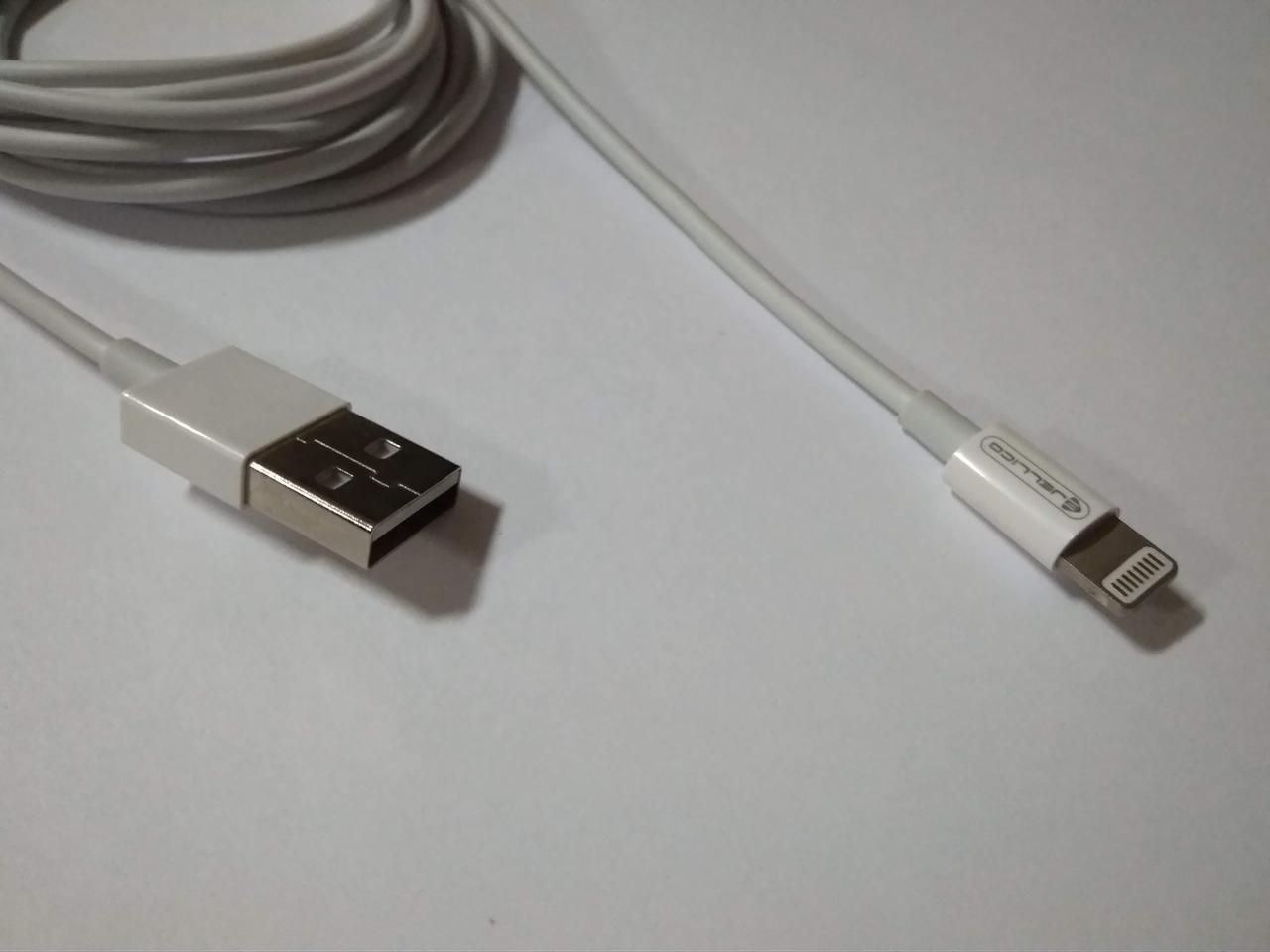 2 метровый кабель зарядки iphone ipad lightning шнур провод удлинённый