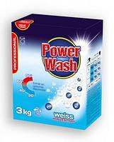 """Стиральный порошок без фосфатов """"Power Wash Professional"""" 3 кг (для белых вещей)"""