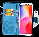 Чехол книжка Clover для Huawei Y6 2018 Черный, фото 2