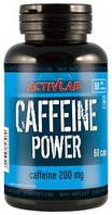 CAFFEINE POWER ACTIVLAB 60 CAPS.Энергетик.