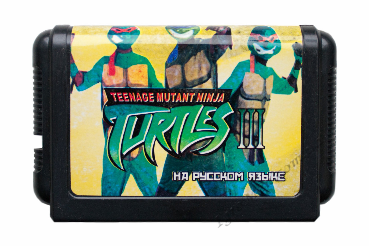 Картридж cега Turtles: Hyperstone Heist