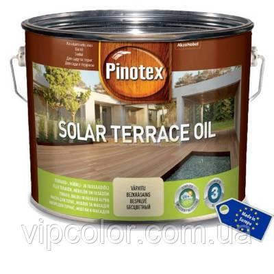 PINOTEX SOLAR TERRACE OIL 2,33л Тонируемое масло для террас, мебели и фасадов на водной основе