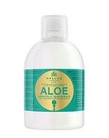 Kallos ALOE шампунь для восстановления блеска волос с экстрактом алоэ вера, 1000 мл