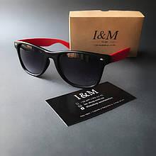 Солнцезащитные очки I&M Craft красные (180101)