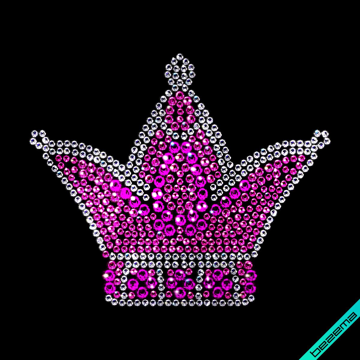 Стразы Корона (Стекло,2мм-бел.,2мм-роз., 3мм-роз.,4мм-фукс.)