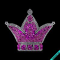 Стрази Корона (Скло,2мм-біл.,2мм-троянд., 3мм-троянд.,4мм-фукс.)