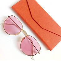 Жіночі сонцезахисні окуляри Ray Ban рожеві