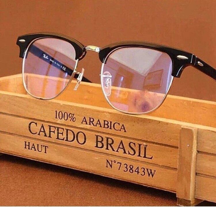 Женские солнцезащитные очки Ray Ban прозрачные