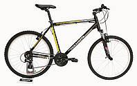 Велосипед MASCOTTE Celeste 26 v-brake черно-желтый , фото 1