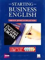 Christine Johnson, Jack Lonergan «Starting Business English» Відеокурс (3 книги, 2 DVD, 3 аудіо-CD)