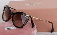 Солнцезащитные очки Miu Miu (smu 03p) leo