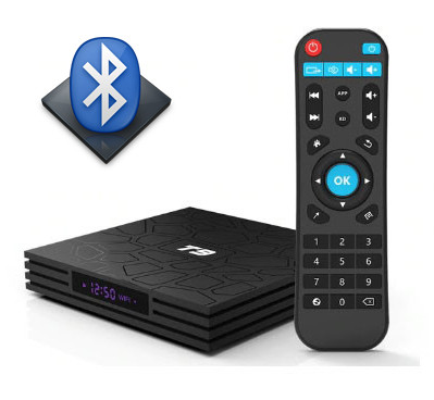 Android приставка Smart TV Box Т9 4/32 Гб + Bluetooth