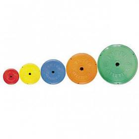 Диск InterAtletika ST521.1 цветной 0,5 кг