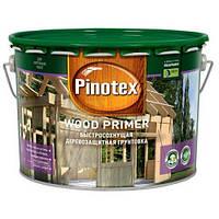 PINOTEX WOOD PRIMER Бесцветная 10л быстросохнущая защитная грунтовка для дерева