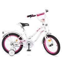 Велосипед дитячий PROF1 18Д. Y1894 Star біло-малиновий, фото 1