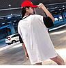 Прямая женская футболка удлиненная (в расцветках), фото 9