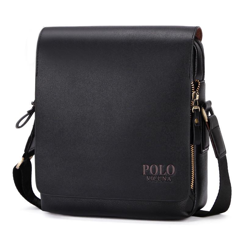 33a4210c37bc Повседневная деловая мужская сумка Черный, коричневый - SENATOR в Львове