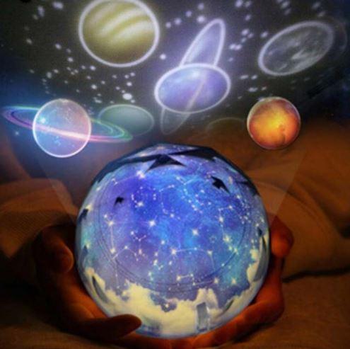 Ночник-проектор Земля