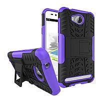 Чехол Armor Case для Huawei Y3 II Фиолетовый