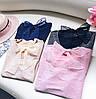 Нежная люрексовая блузка с бантом (в расцветках), фото 9