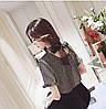 Нежная люрексовая блузка с бантом (в расцветках), фото 5