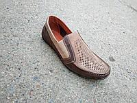 Мокасини туфлі чоловічі літні замшеві 40 -47 р-р, фото 1