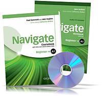 Navigate A1 Beginner, Coursebook + Workbook / Учебник + Тетрадь (комплект с дисками) английского языка