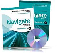Navigate B1 + Intermediate, Coursebook + Workbook / Учебник + Тетрадь (комплект с дисками) английского языка