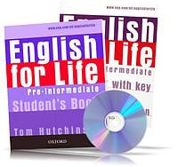 English for Life Pre-Intermediate, Student's book + Workbook + CD / Учебник + Тетрадь (комплект с диском) английского языка