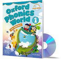 Oxford Phonics World 1, Student's Book+CDs / Учебник с дисками английского языка