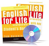 English for Life Intermediate, Student's book + Workbook + CD / Учебник + Тетрадь (комплект с диском) английского языка