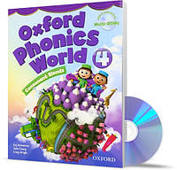 Oxford Phonics World 4, Student's Book+CDs / Учебник с дисками английского языка