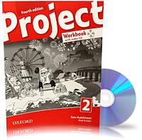 Project 4th edition 2, Workbook+CD+Online / Тетрадь к учебнику с диском английского языка