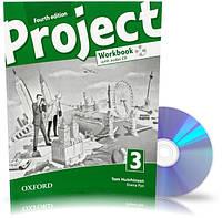 Project 4th edition 3, Workbook+CD+Online / Тетрадь к учебнику с диском английского языка