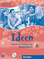 Ideen 3, Arbeitsbuch + CD / Тетрадь к учебнику с диском немецкого языка