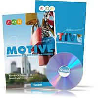Motive A1-B1, Kursbuch + Arbeitsbuch + CD / Учебник + тетрадь (1-30) комплект с диском немецкого языка
