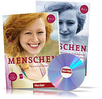 Menschen A1.1, Kursbuch + Arbeitsbuch / Учебник + Тетрадь (комплект с дисками) немецкого языка