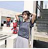 Нежная люрексовая блузка с бантом (в расцветках), фото 4
