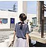 Нежная люрексовая блузка с бантом (в расцветках), фото 3