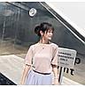 Нежная люрексовая блузка с бантом (в расцветках), фото 7