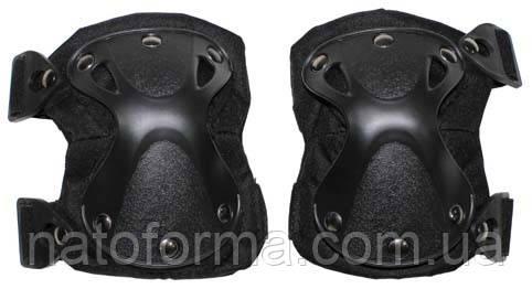 Тактические наколенники Defence (MFH), black, защита ноги