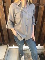 Блузка, рубашка женская коттоновая NN