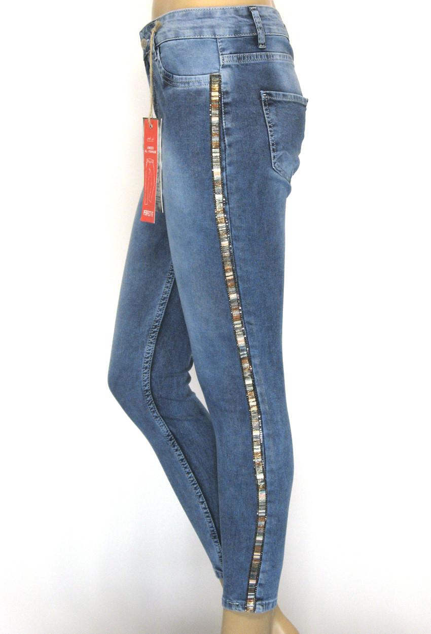 Жіночі джинси американки напів батали