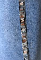 Жіночі джинси американки напів батали, фото 3
