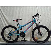 Азимут Хайленд 24 велосипед горный подростковый Azimut Hiland G-FR-D