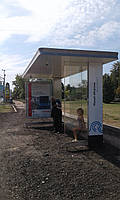 """Автобусная остановка, модель """"Метрополис"""""""