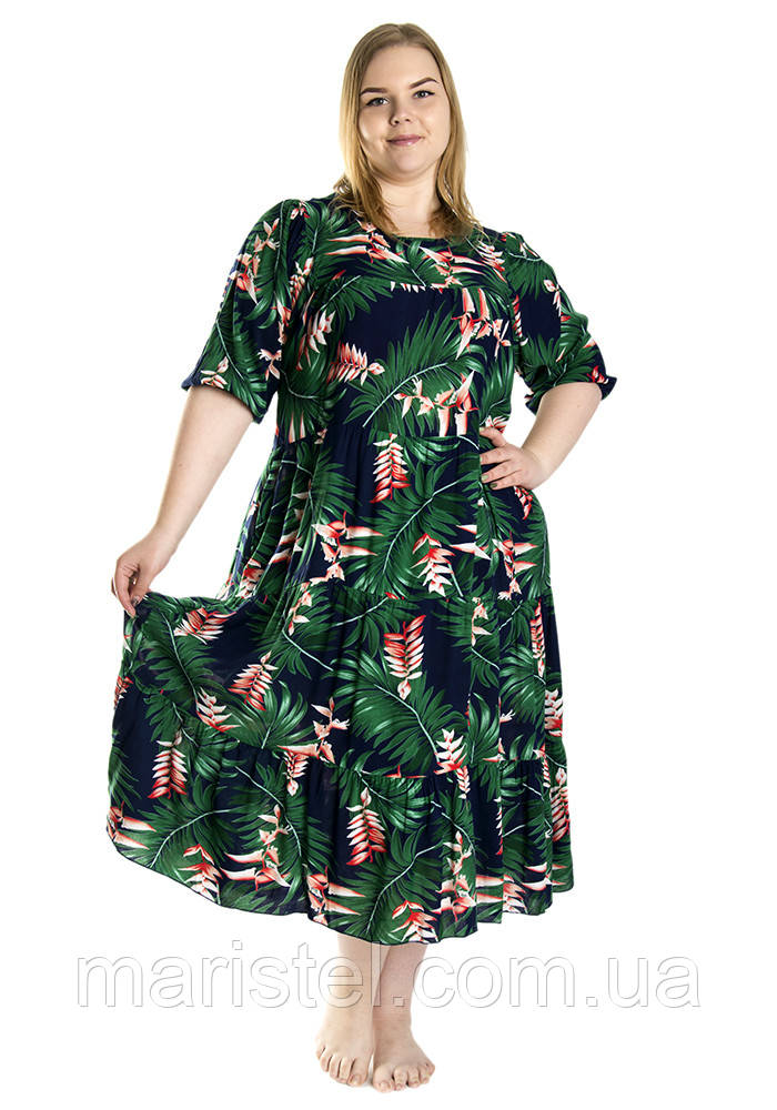 Женское летнее платье 1234-10