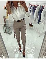 Женские стильные брюки с принтами, фото 1